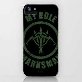 Marksman iPhone Case