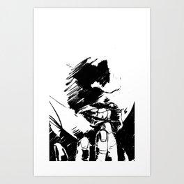 Pressure Point Art Print