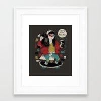 80s Framed Art Prints featuring 80s power! by Louis Roskosch