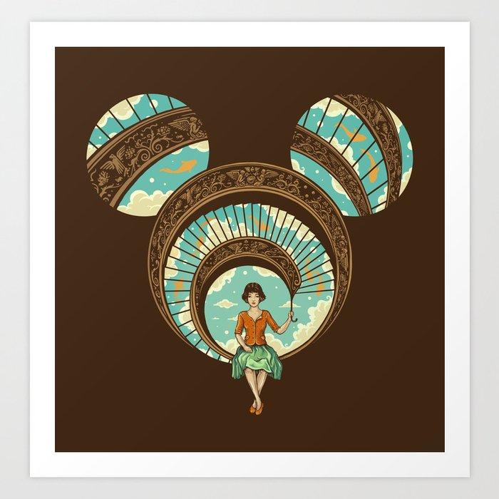 World of Imagination Art Print
