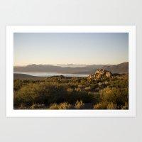 Desert Dawn III Art Print