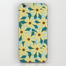 Gerbera Blue iPhone & iPod Skin