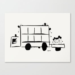 Jump On Board Canvas Print