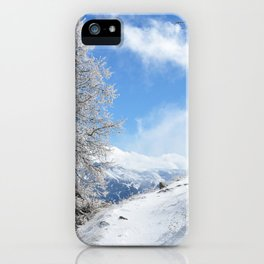 The Untraveled Path iPhone Case