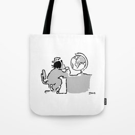 Look at the world Tote Bag