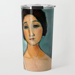 "Amedeo Modigliani ""Christina"" Travel Mug"