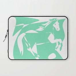 Carnival Glass Horse Laptop Sleeve
