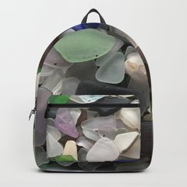 Sea Glass Assortment 1 Backpack