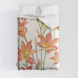 Daylilies Comforters