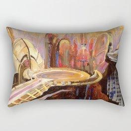 Coruscant Skyline Rectangular Pillow