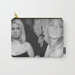 FEUD: Paris and Lindsay Carry-All Pouch