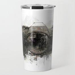retro camera illustration / painting /drawing  2 Travel Mug