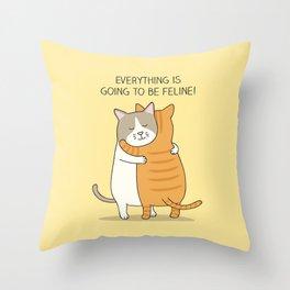 Hugs Throw Pillow