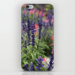 Flowers in Butchart's Garden iPhone Skin