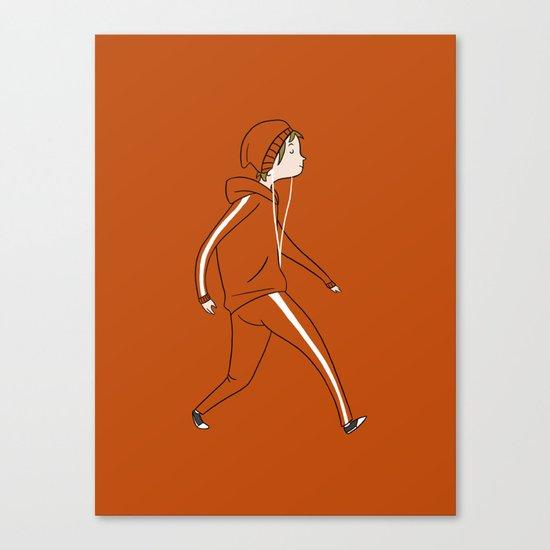 Take a Walk Canvas Print