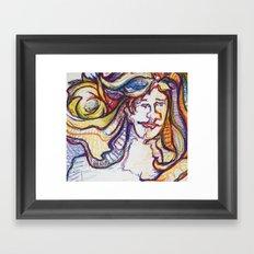 ladylight Framed Art Print