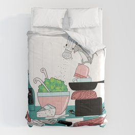 The Hungry Mouse Comforters