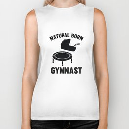 Natural Born Gymnast Biker Tank