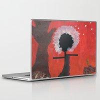 medicine Laptop & iPad Skins featuring Native Medicine by nick121235