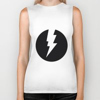 the flash Biker Tanks featuring Flash by Mr & Mrs Quirynen