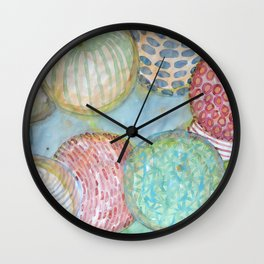 Ball Collection Wall Clock