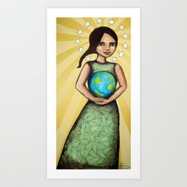 Our Lady of the Earth Art Print