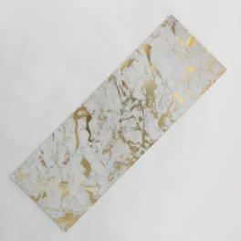 Gold marble Yoga Mat