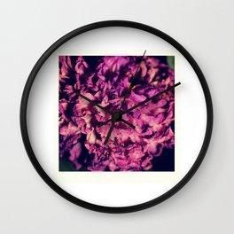 dry purple flower - 2nd Wall Clock