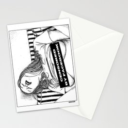 asc 330 - La méridienne II (The siesta) Censored by Facebook Stationery Cards