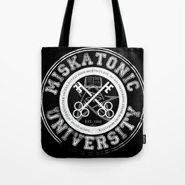 Miskatonic University Emblem (Dark version) Tote Bag