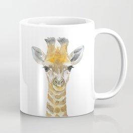 Baby Giraffe Watercolor Coffee Mug