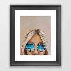 Pacific Beach Framed Art Print