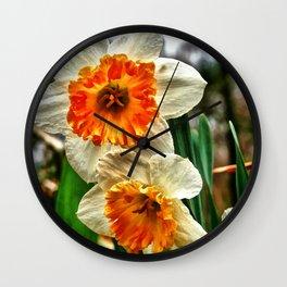 Faithful and True Wall Clock