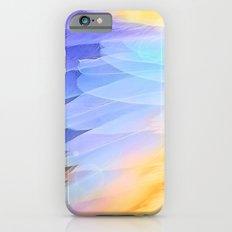 Texture plumage iPhone 6 Slim Case