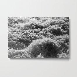 Wave Study No. 8347 Metal Print