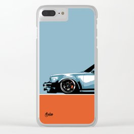 911 Turbo Clear iPhone Case
