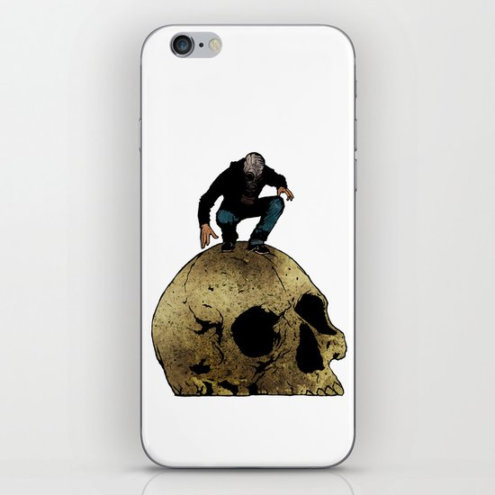 Leroy And The Giant's Giant Skull iPhone & iPod Skin
