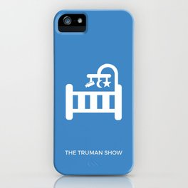 The Truman Show Minimalist Poster iPhone Case