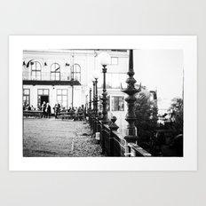 Stockholm Noir no. III Art Print