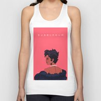 bubblegum Tank Tops featuring Bubblegum by DennisARTWORKS