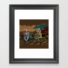 ABreakOnForeignPlanet Framed Art Print