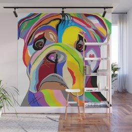 Bulldog Wall Mural