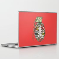 huebucket Laptop & iPad Skins featuring Grenade Garden by Huebucket