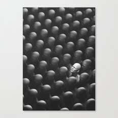 The Man who looked up. Canvas Print