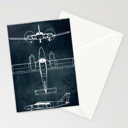 Piper PA-24 SENECA - 1967 Stationery Cards