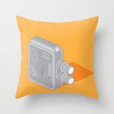 Meopta Camera Throw Pillow