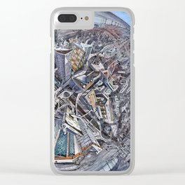 City of the planet Clear iPhone Case