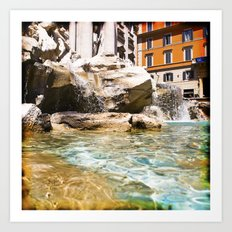 italy - rome - vacanze romane_26 Art Print