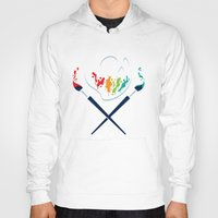 pirates Hoodies featuring Art Pirates by Steven Toang