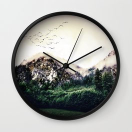 The Liveliness of Wildlife Wall Clock